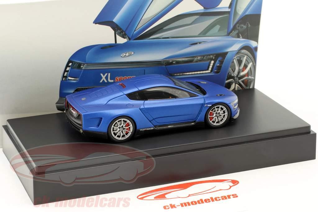 Volkswagen VW XL Sport anno di costruzione 2015 blu 1:43 Spark