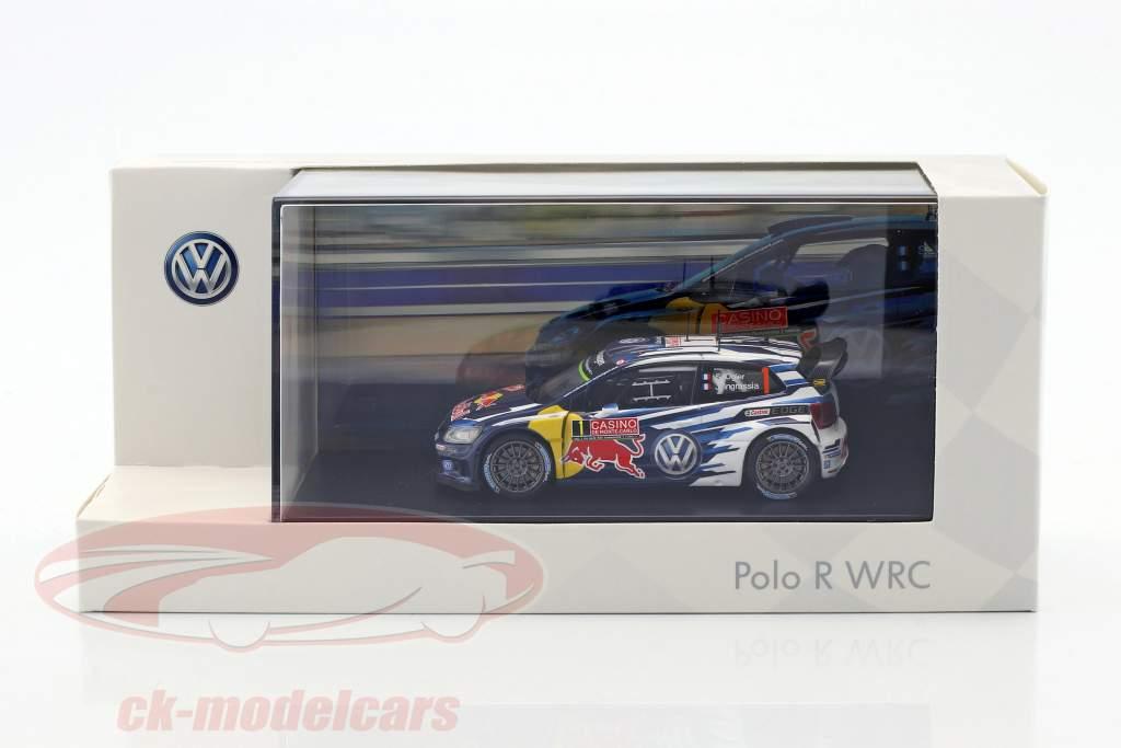 Volkswagen VW Polo R WRC #1 WRC 2015 Ogier, Ingrassia 1:43 Spark