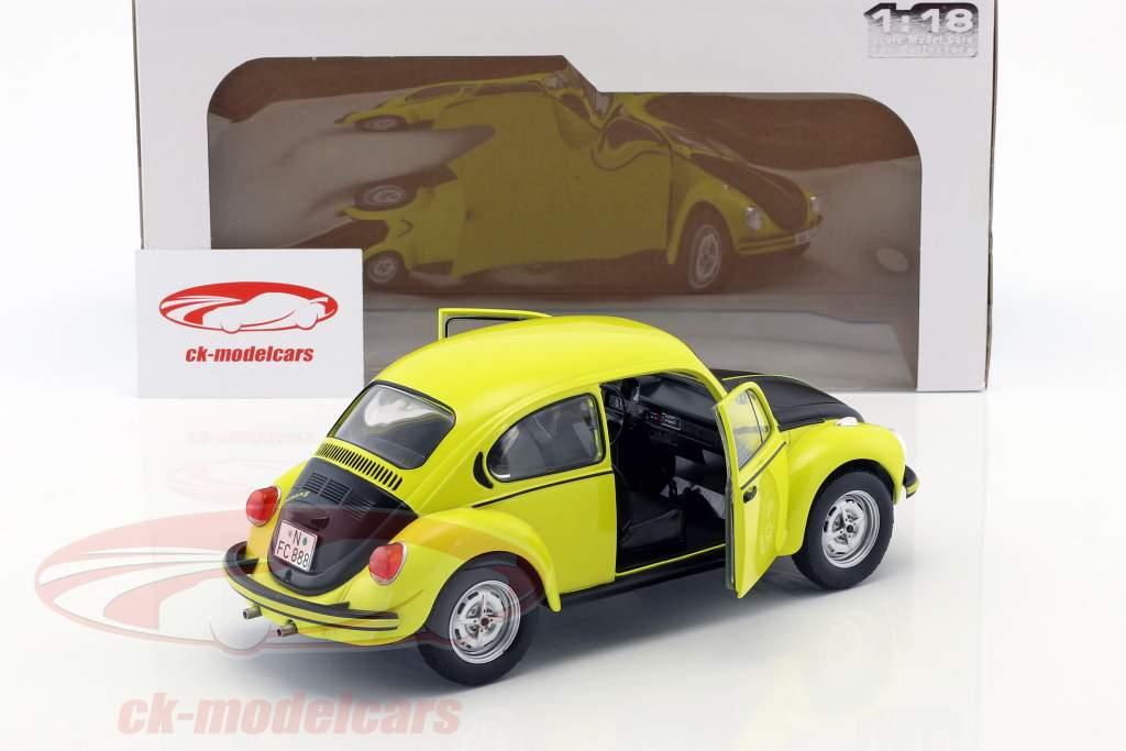Volkswagen VW Käfer 1303 GSR Opførselsår 1973 gul / sort 1:18 Solido