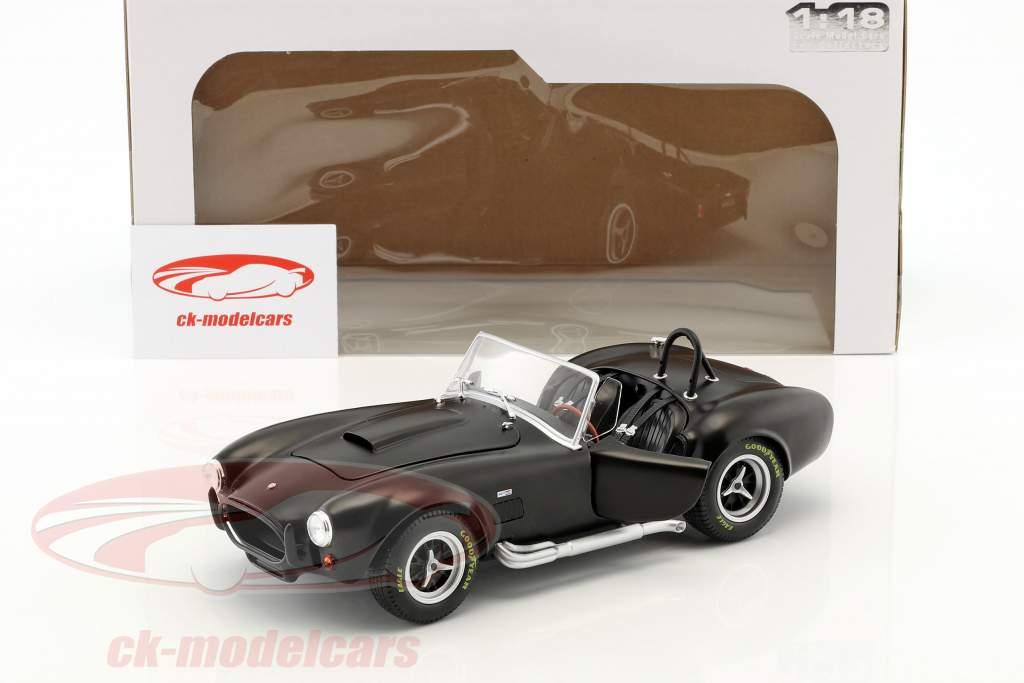 AC Cobra MKII 427 Bouwjaar 1965 zwart 1:18 Solido