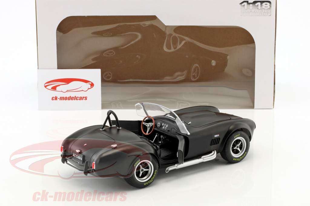 AC Cobra MKII 427 année de construction 1965 noir 1:18 Solido