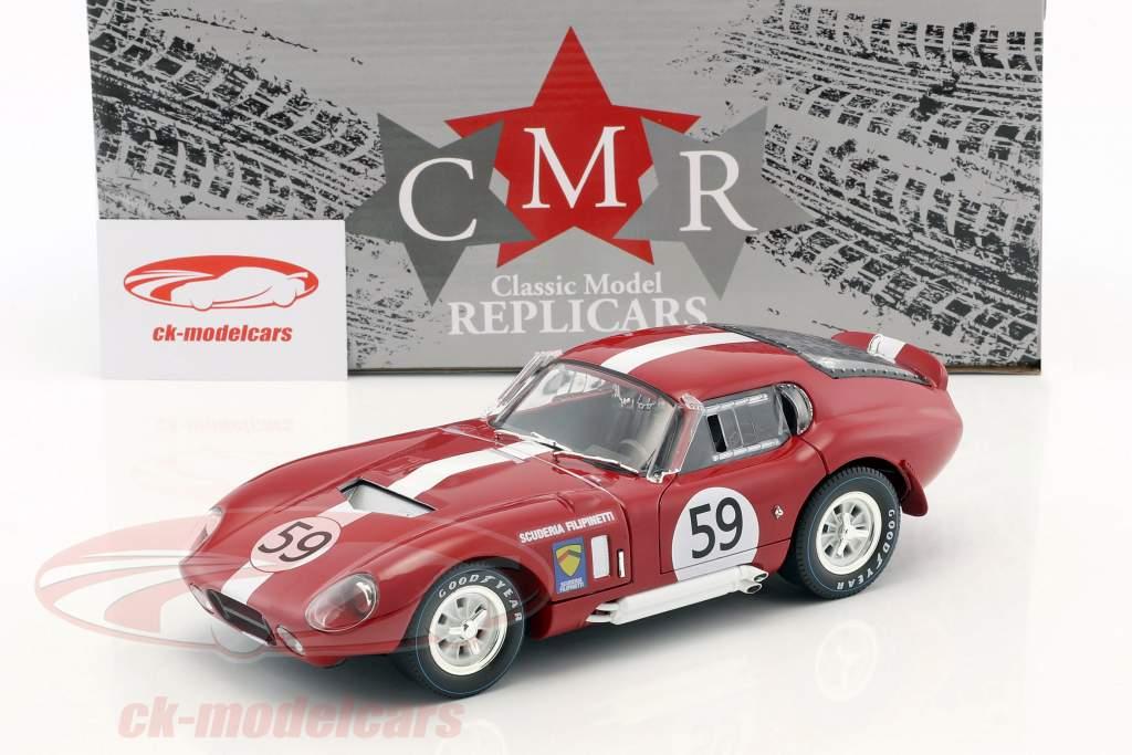 Shelby Cobra Daytona #59 24h LeMans 1965 Harper, Sutcliffe 1:18 CMR