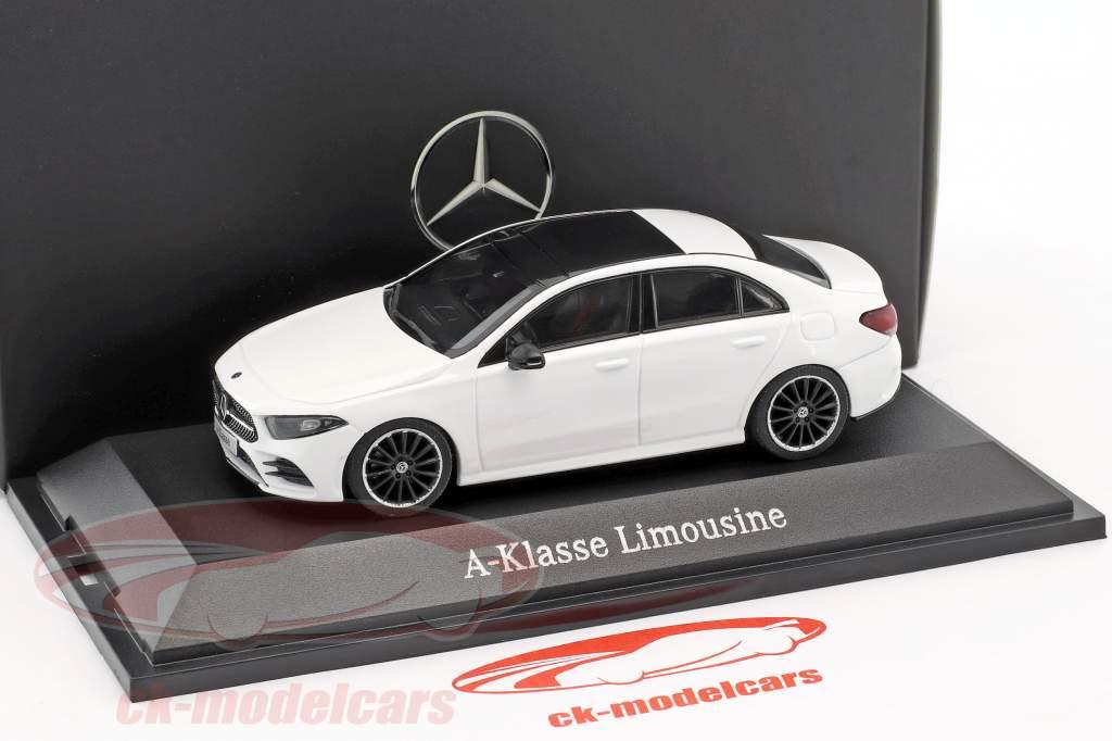 Mercedes-Benz A-Class berline (V177) polaire blanc 1:43 Herpa