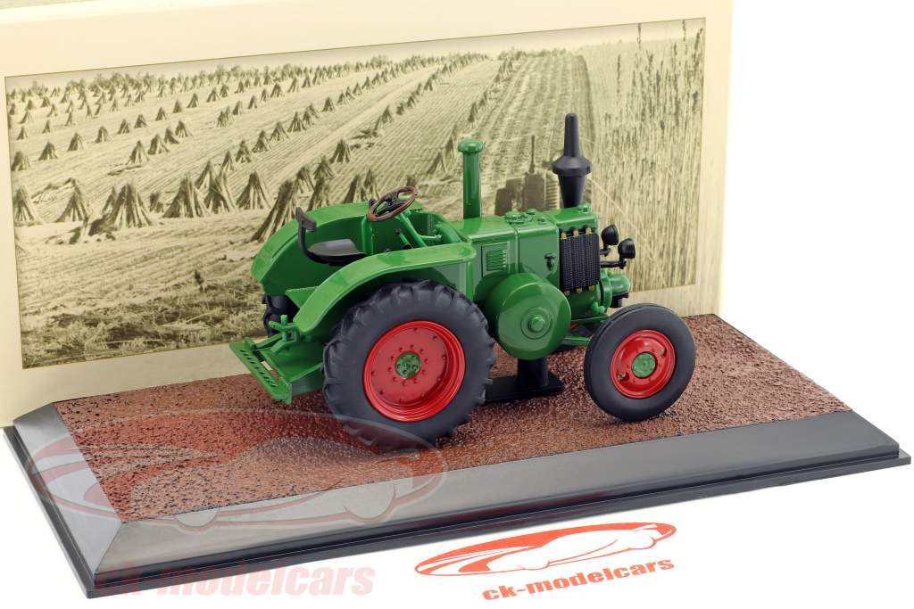 Le Pecheron T25 anno di costruzione 1947 verde 1:32 Atlas