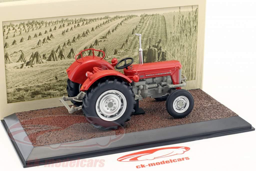 Massey Ferguson 65 année de construction 1963 rouge 1:32 Atlas