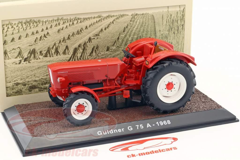Güldner G75A année de construction 1968 rouge 1:32 Atlas