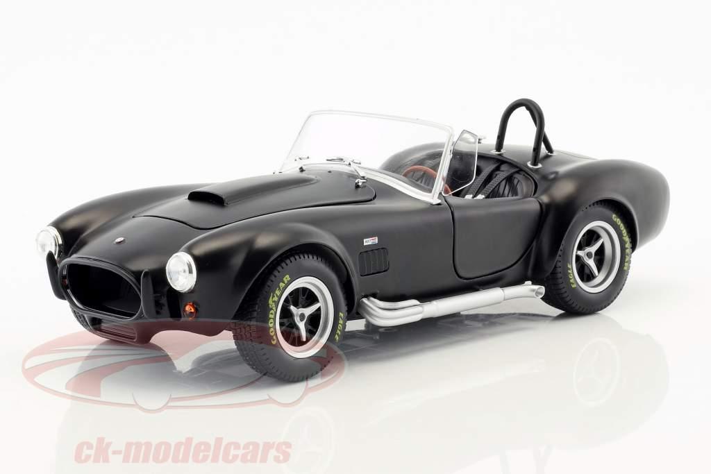 AC Cobra MKII 427 ano de construção 1965 preto 1:18 Solido