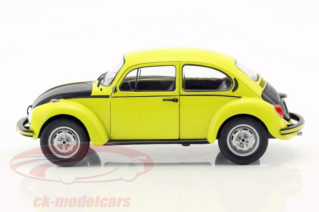 Volkswagen VW Käfer 1303 GSR ano de construção 1973 amarelo / preto 1:18 Solido
