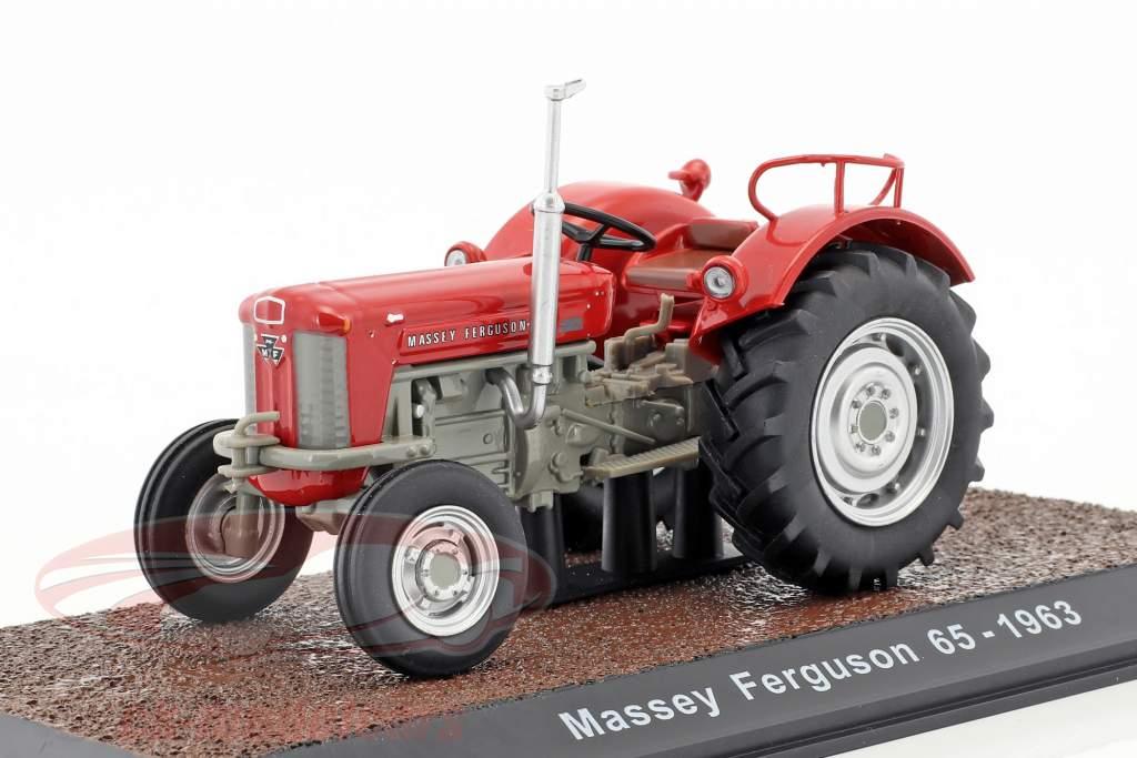Massey Ferguson 65 year 1963 red 1:32 Atlas
