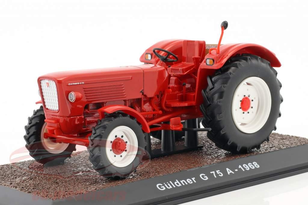 Güldner G75A Baujahr 1968 rot 1:32 Atlas