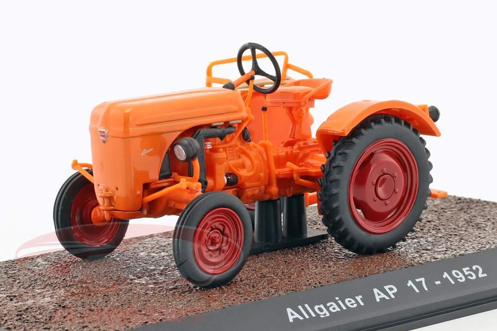 Allgaier AP17 Baujahr 1952 orange 1:32 Atlas