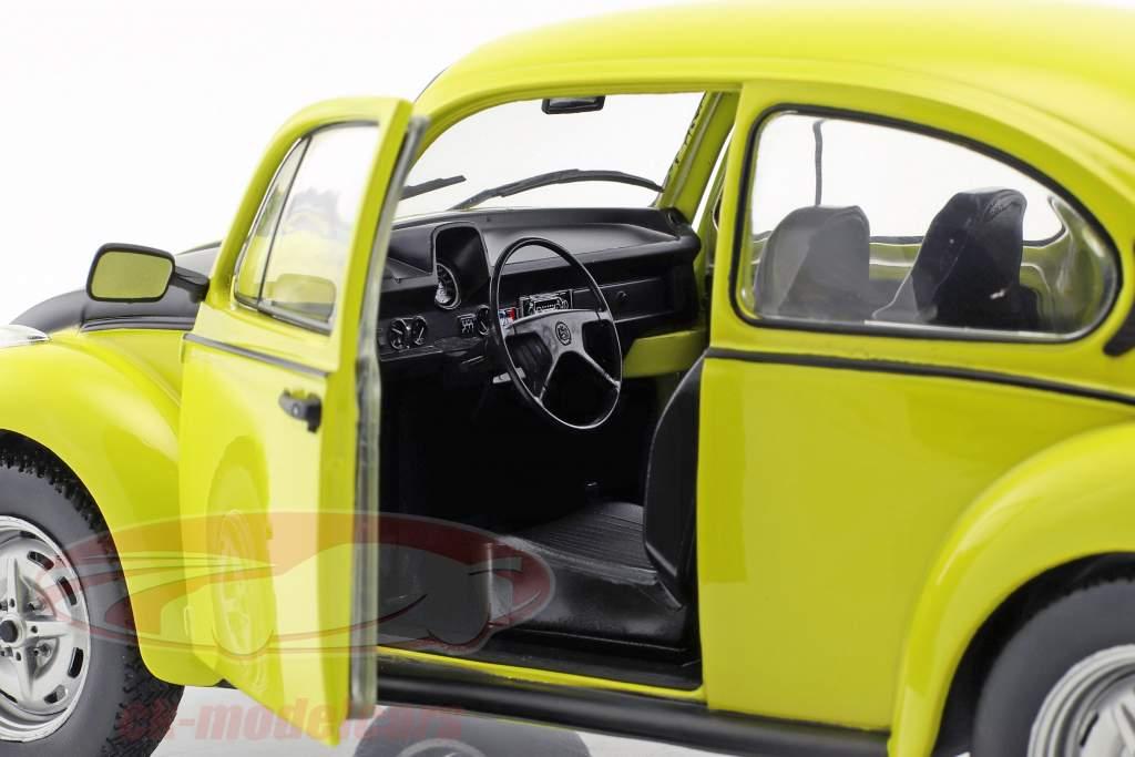 Volkswagen VW Käfer 1303 GSR year 1973 yellow / black 1:18 Solido