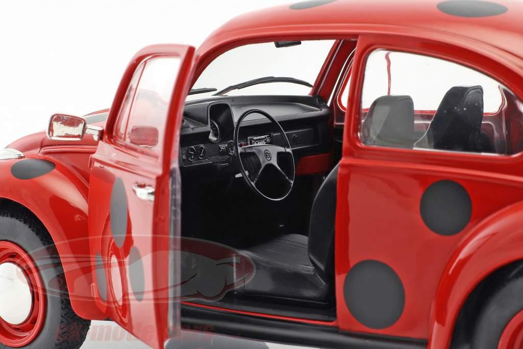 Volkswagen VW Käfer 1303 joaninha vermelho / preto 1:18 Solido