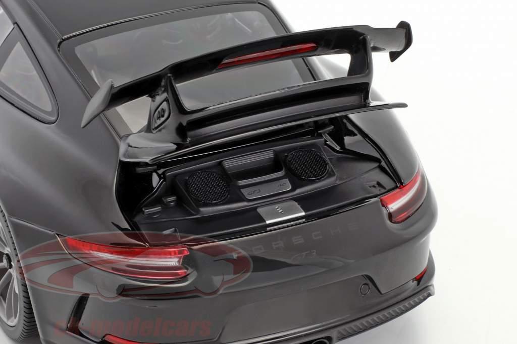 Porsche 911 (991 II) GT3 année de construction 2017 noir 1:18 Minichamps