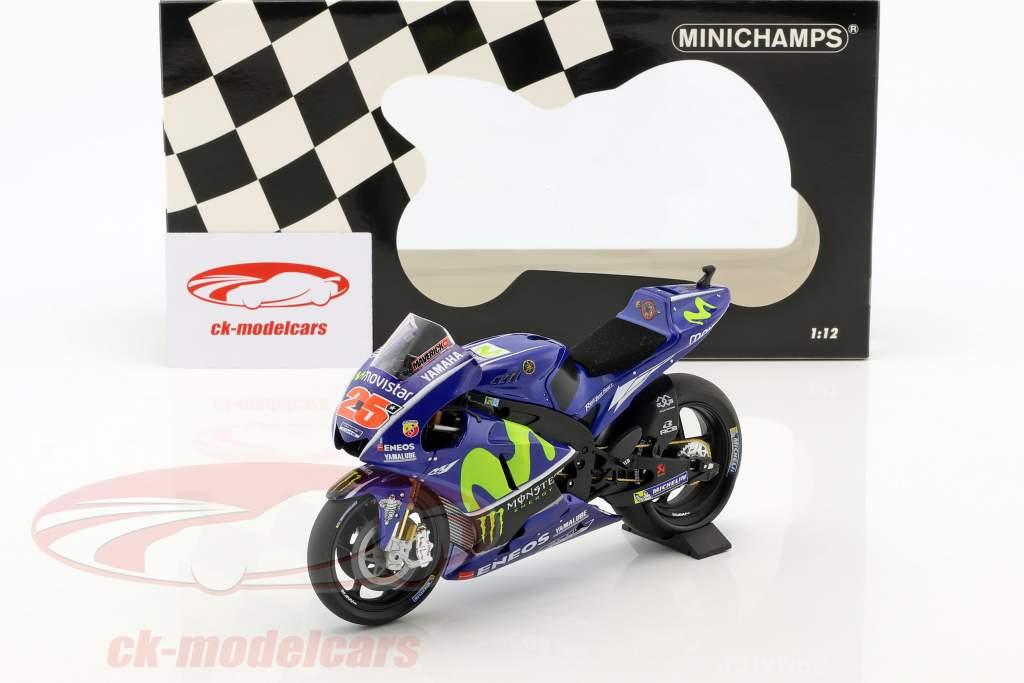 Maverick Vinales Yamaha YZR-M1 #25 MotoGP 2017 1:12 Minichamps