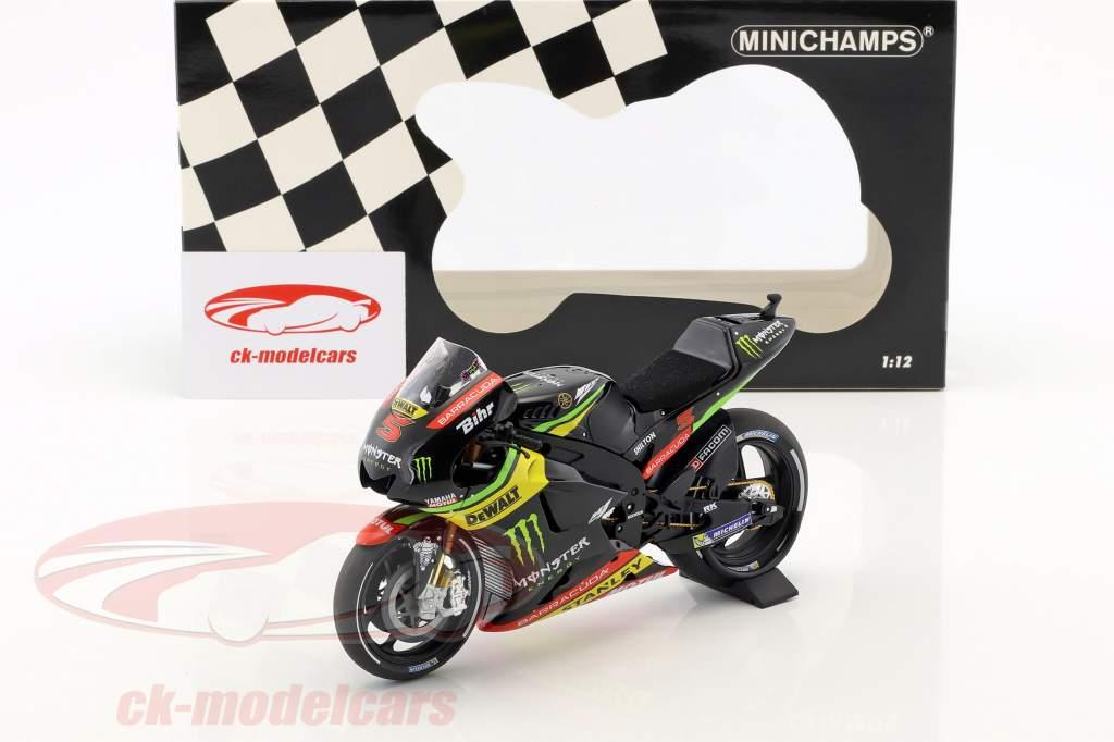 Johann Zarco Yamaha YZR-M1 #5 MotoGP 2017 1:12 Minichamps