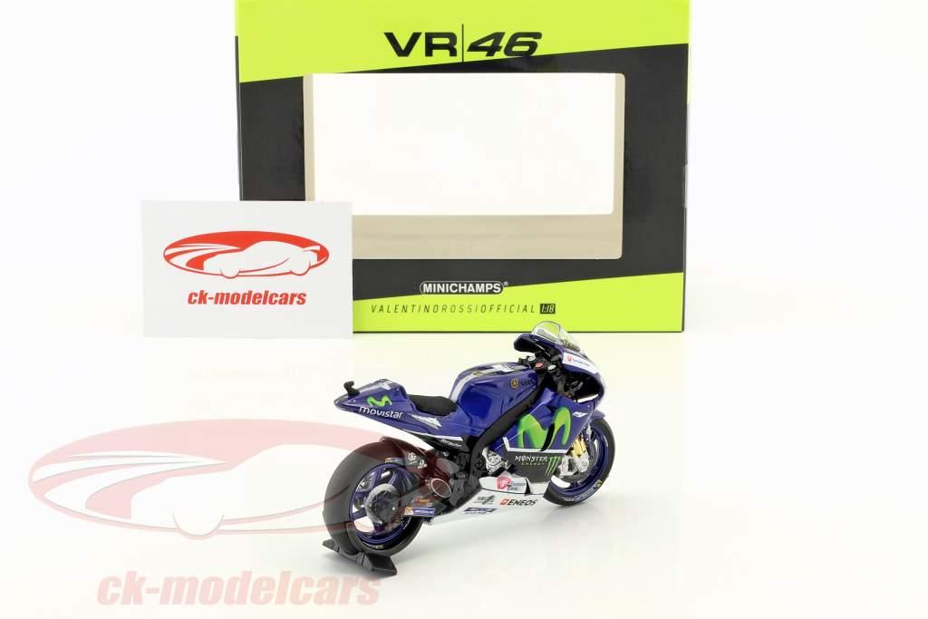 Valentino Rossi Yamaha YZR-M1 #46 Testbike MotoGP 2016 1:18 Minichamps