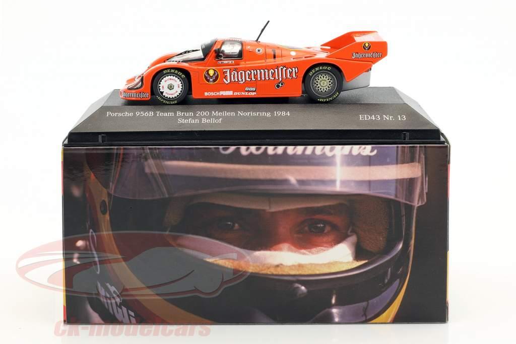 Porsche 956B #1 3rd place 200 miles Norisring 1984 Stefan Bellof 1:43 CMR