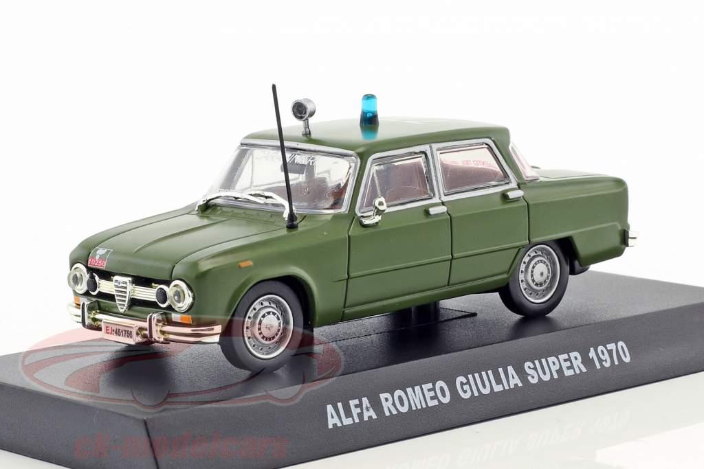 Alfa Romeo Giulia Super Baujahr 1970 oliv grün 1:43 Altaya