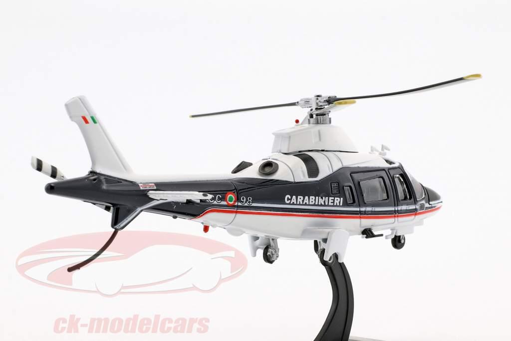 Agusta A109 hélicoptère année de construction 2003 bleu / blanc 1:72 Altaya