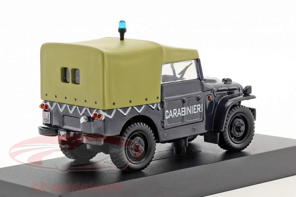 Fiat Campagnola A.R. 59 anno di costruzione 1959 blu scuro 1:43 Altaya