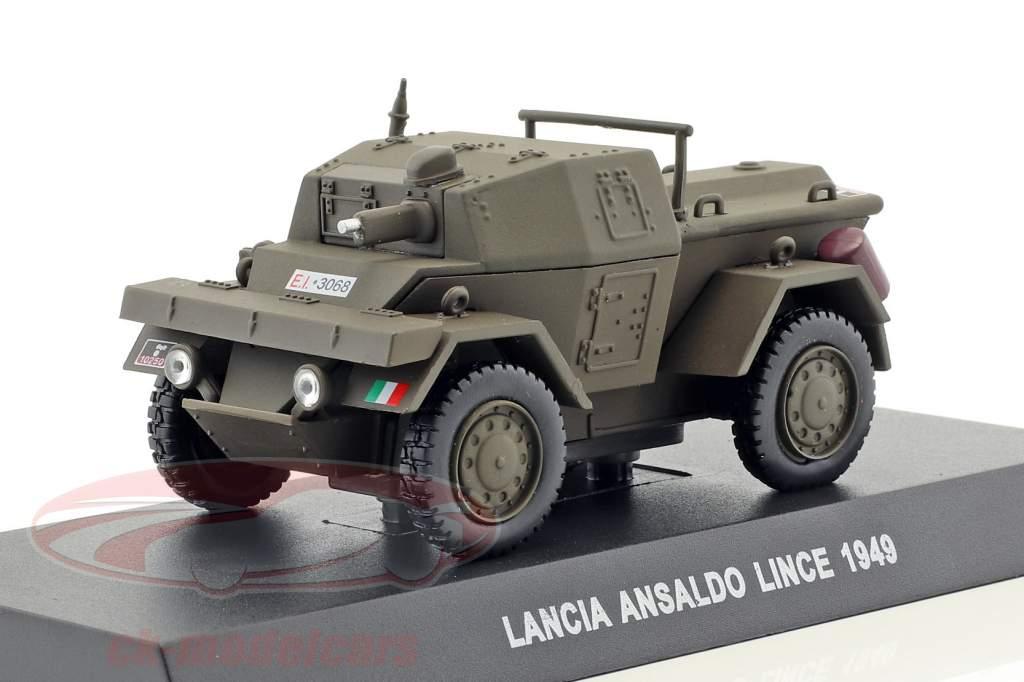 Lancia Ansaldo Lince Baujahr 1949 oliv grün 1:43 Altaya