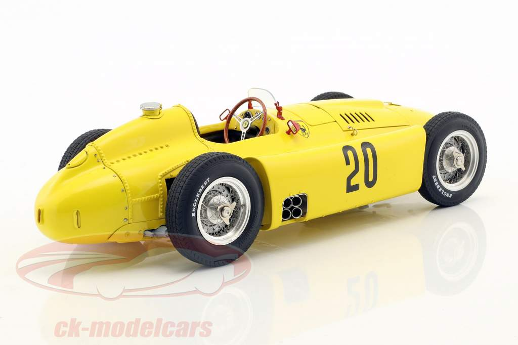 2-Car Set: A. Ascari Lancia D50 #6 Turin GP 1955 & A. Pilette Ferrari D50 Belgique GP 1956 1:18 CMC