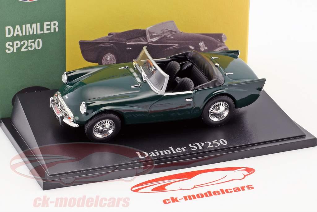 Daimler SP250 british racing grün 1:43 Atlas