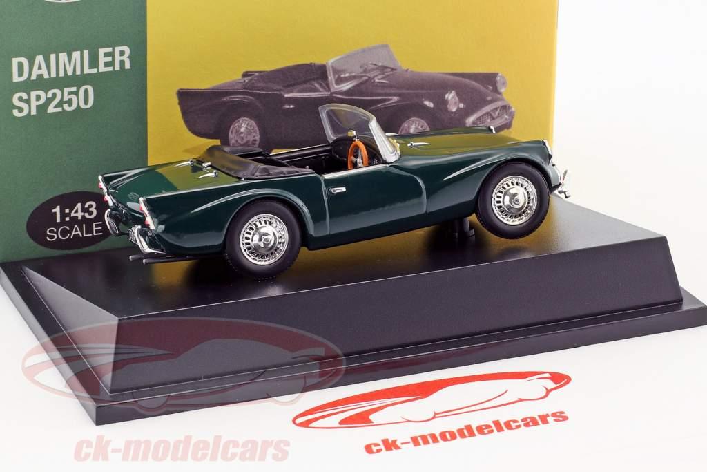 Daimler SP250 british racing green 1:43 Atlas