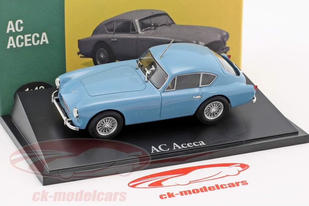 AC Aceca light blue 1:43 Atlas
