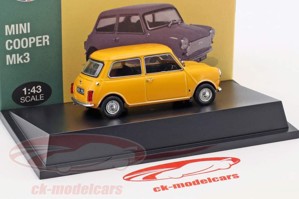 Mini Cooper S Mk3 jaune 1:43 Atlas