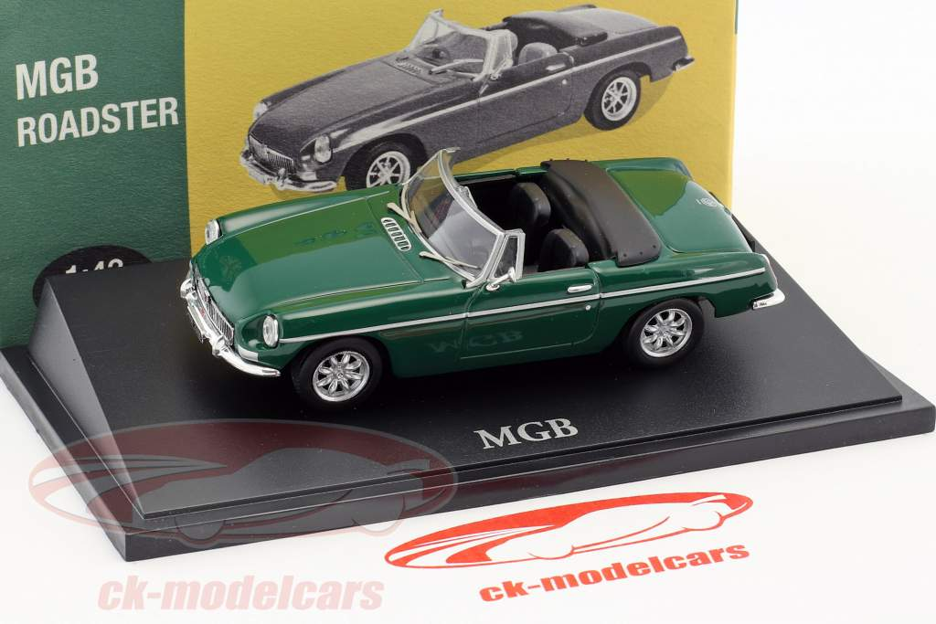 MGB Roadster green 1:43 Atlas