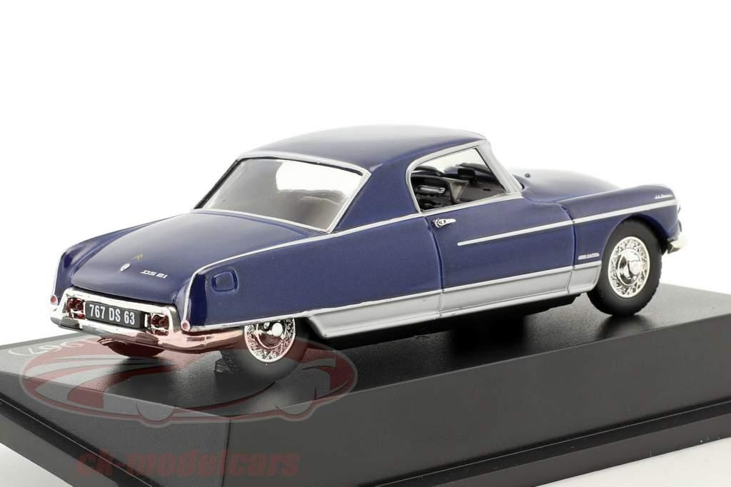 Citroen DS Coupe Le Dandy Baujahr 1967 blau 1:43 Atlas