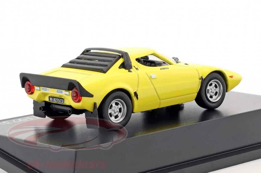 Lancia Stratos HF Stradale année de construction 1973 jaune 1:43 Atlas