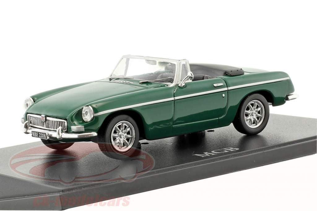 MGB Roadster verde 1:43 Atlas
