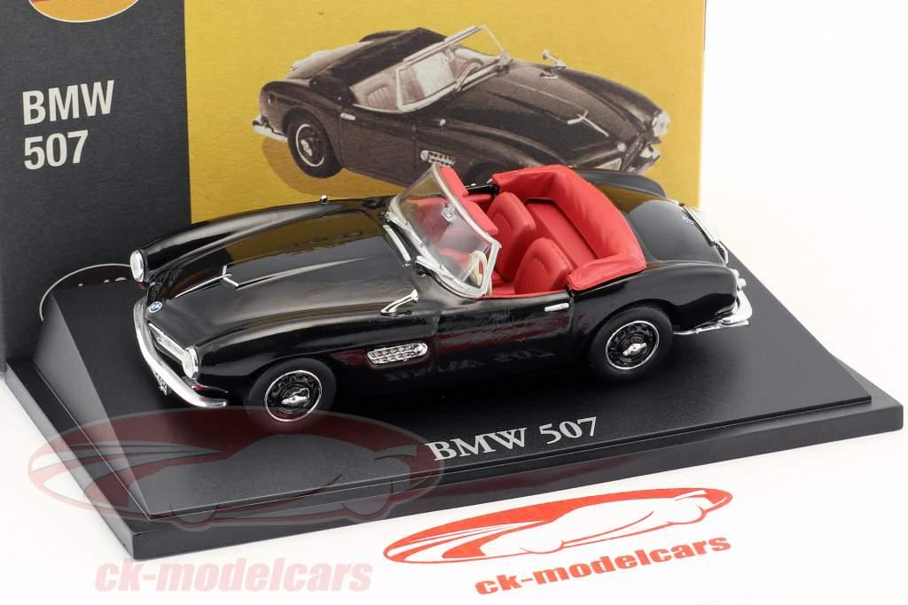 BMW 507 cabriolet nero 1:43 Atlas