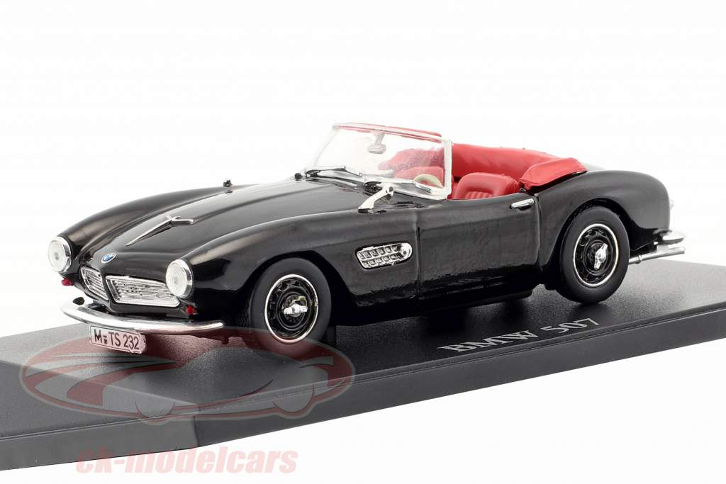 BMW 507 Cabriolet black 1:43 Atlas