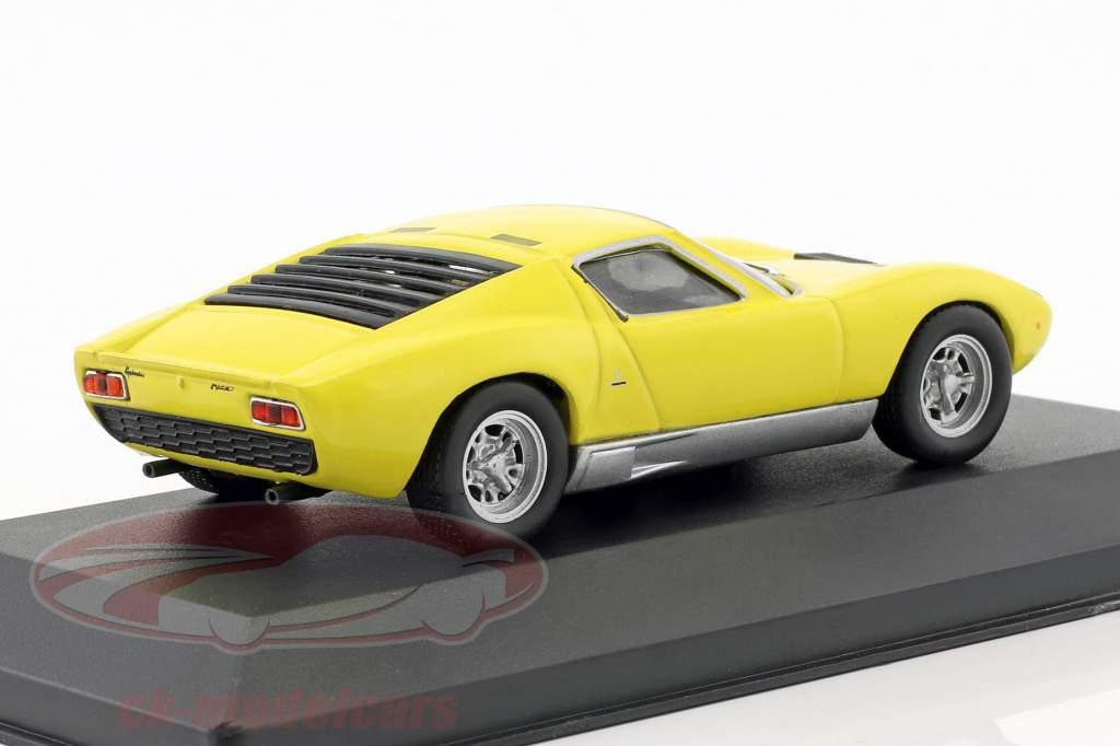 Atlas 1 43 Lamborghini Miura P400 Annee De Construction 1966 Jaune