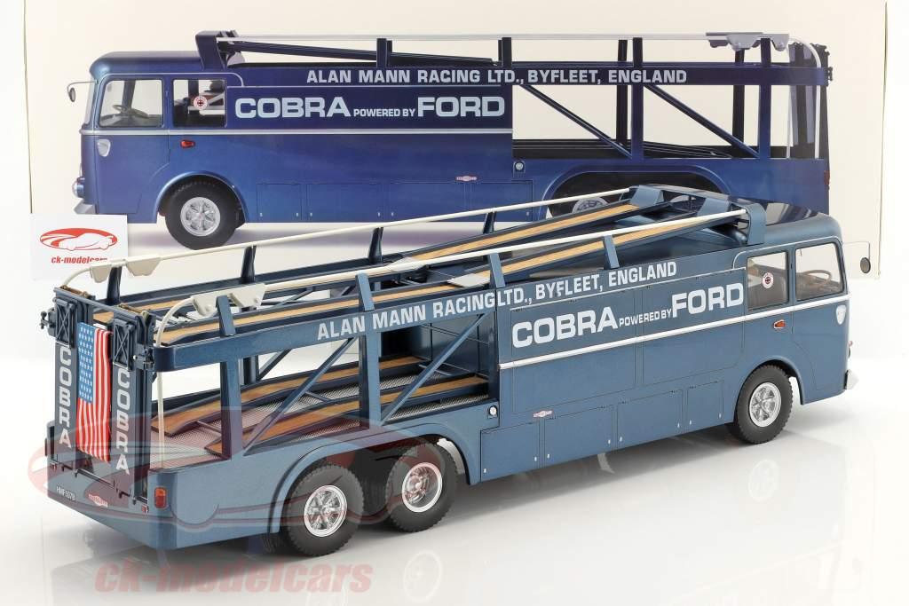 Fiat Bartoletti 306/2 Shelby Cobra corsa trasportatore Alan Mann Racing Ltd 1:18 Norev