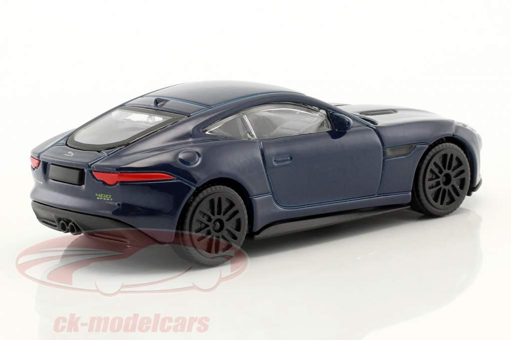 Jaguar F-Type dark blue 1:43 Bburago