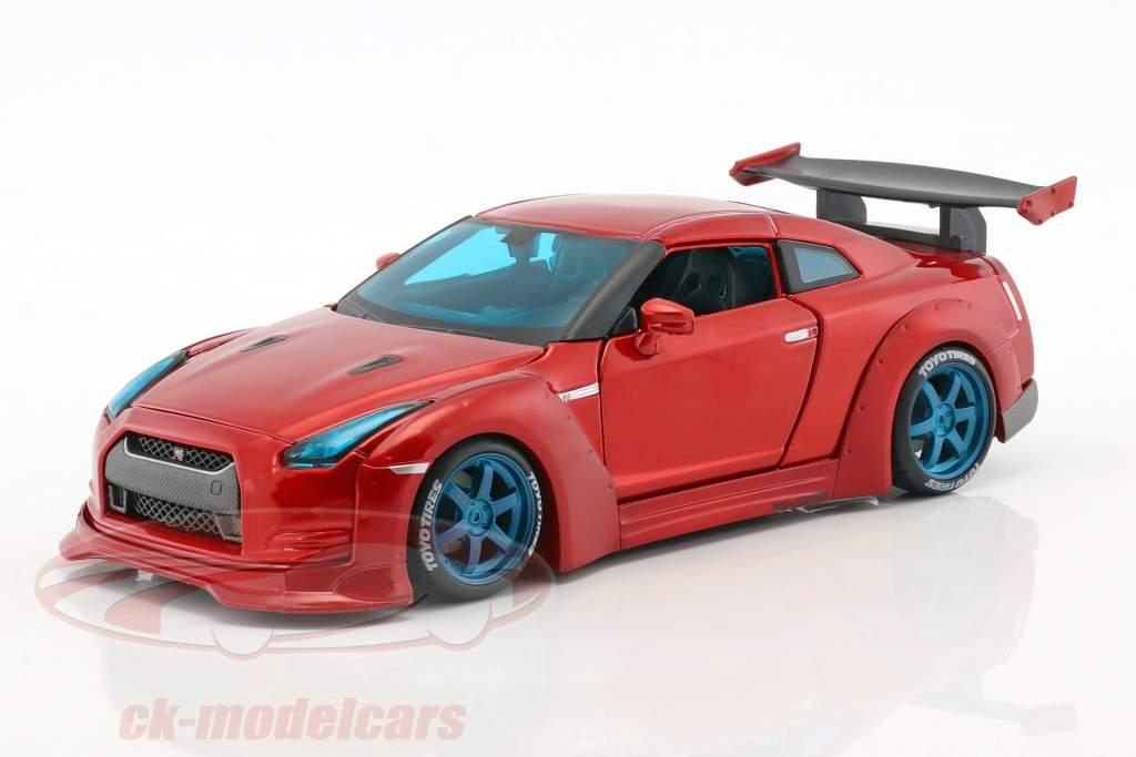 Nissan GT-R Tokyo Mod Baujahr 2009 rot 1:24 Maisto