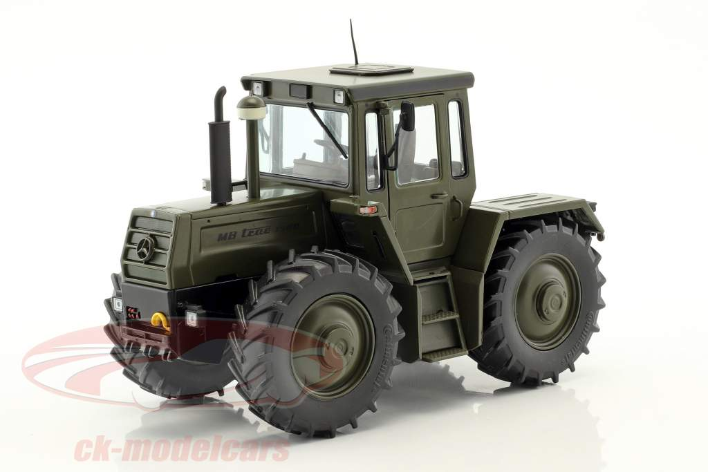 Mercedes-Benz MB-trac 1500 (W443) tractor military year 1980-1987 olive green 1:32 Weise-Toys