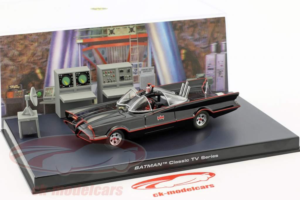Batmobile Batman TV Series 1966 negro 1:43 Ixo Altaya