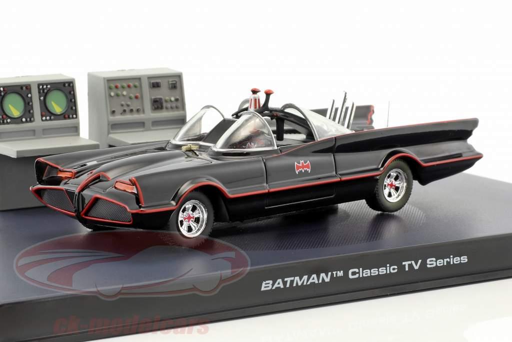 Batmobile Batman TV Serie 1966 sort 1:43 Ixo Altaya
