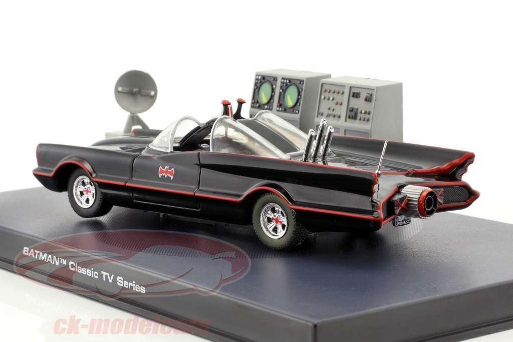 Batmobile Batman TV Serie 1966 sort 1:43 Ixo Altaya