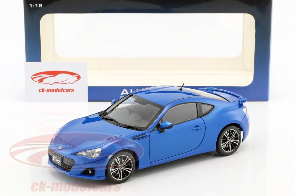 Subaru Brz Wr Blue Mica Rhd 1 18 Autoart