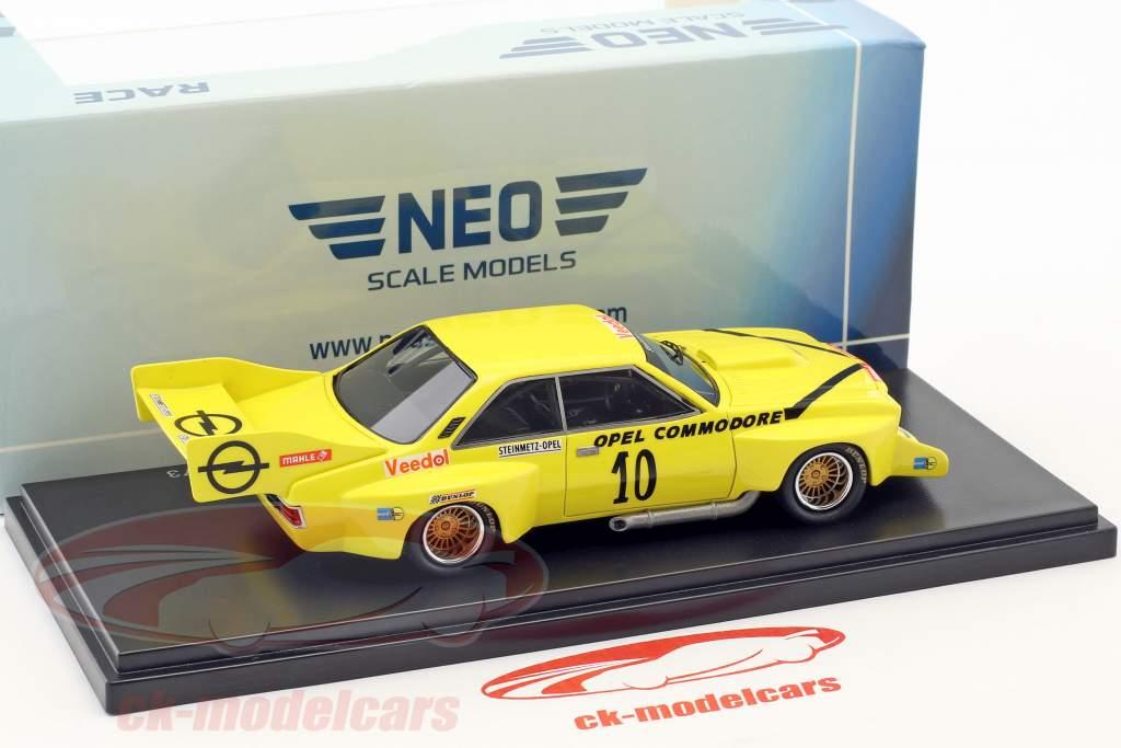 Steinmetz Opel Commodore Jumbo #10 Das Akademische Hockenheimring 1973 Klaus Steinmetz 1:43 Neo