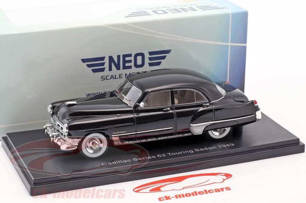 Cadillac Series 62 Touring berline année de construction 1949 noir 1:43 Neo