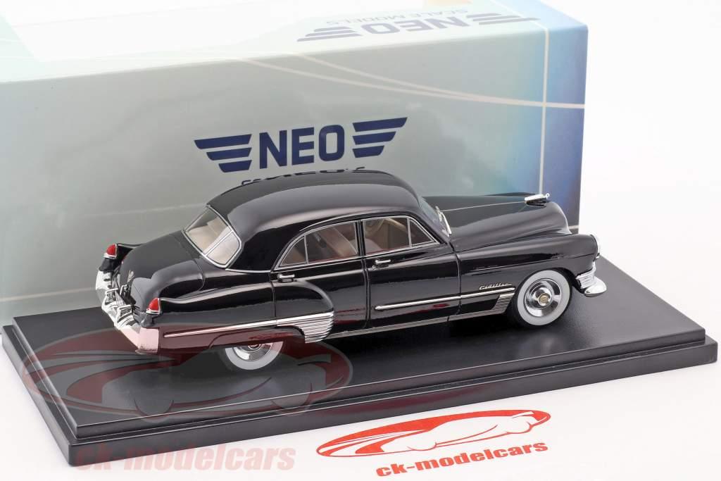 Cadillac Series 62 Touring berlina anno di costruzione 1949 nero 1:43 Neo
