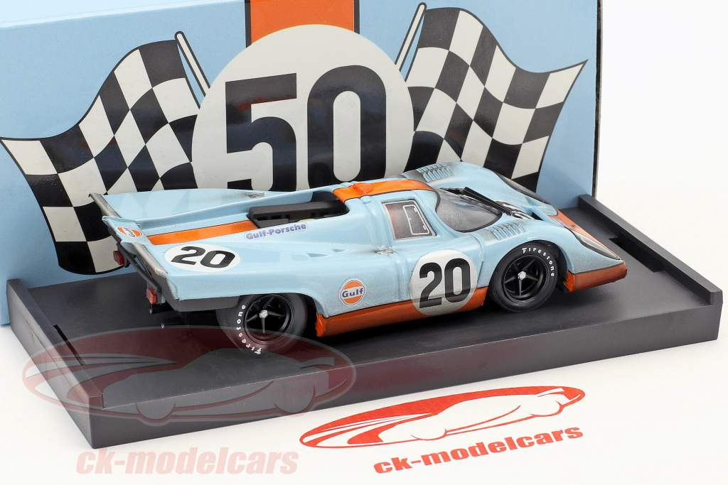 Porsche 917K Dirty Version #20 24h LeMans 1970 Siffert, Redman 1:43 Brumm